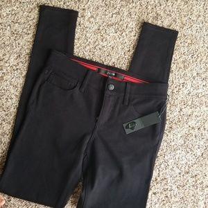 Joes black stretch pants. Brand new_ broken zipper